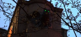 Owls With Glowing Eyes in Herald Square