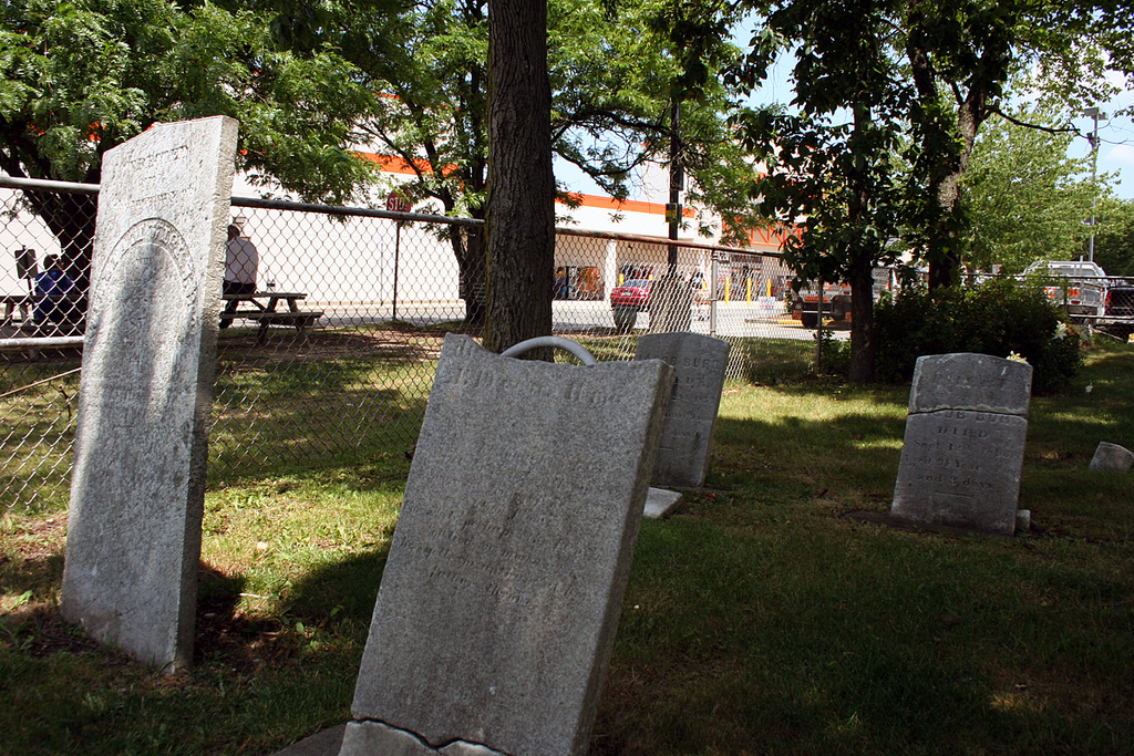 The Forgotten Cemetery at Home Depot | Scouting NY
