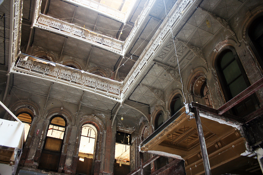 The Abandoned Palace At 5 Beekman Street Scouting Ny