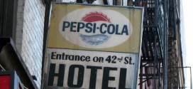 A Forgotten Sign in Times Square