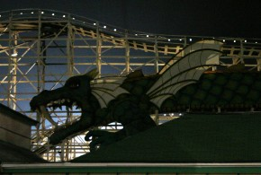 After Hours At An Amusement Park: Exploring Rye Playland In The Dark