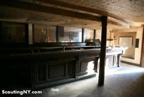Inside A Williamsburg Bar That's Been Boarded Up For Nearly 19 Years: Scouting What Remains Of The Ship's Mast