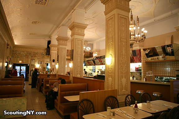 The Fanciest Diner In New York: The Polish Tea Room Of