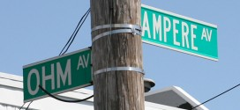 At The Corner of Ampere & Ohm In The Bronx (Yes, This Intersection Actually Exists!)