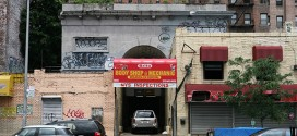 How A Beautiful 19th-Century Marble Archway In Manhattan Became An Auto Body Shop