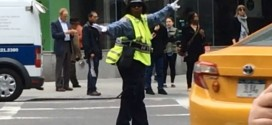 New York's Dancing Traffic Cop