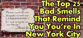 The Top 25 Bad Smells That Remind You You're In New York City