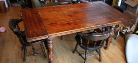 Antique Dining Room Table/Desk For Sale