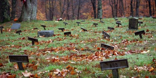 A Mental Asylum Cemetery Hidden In The Woods